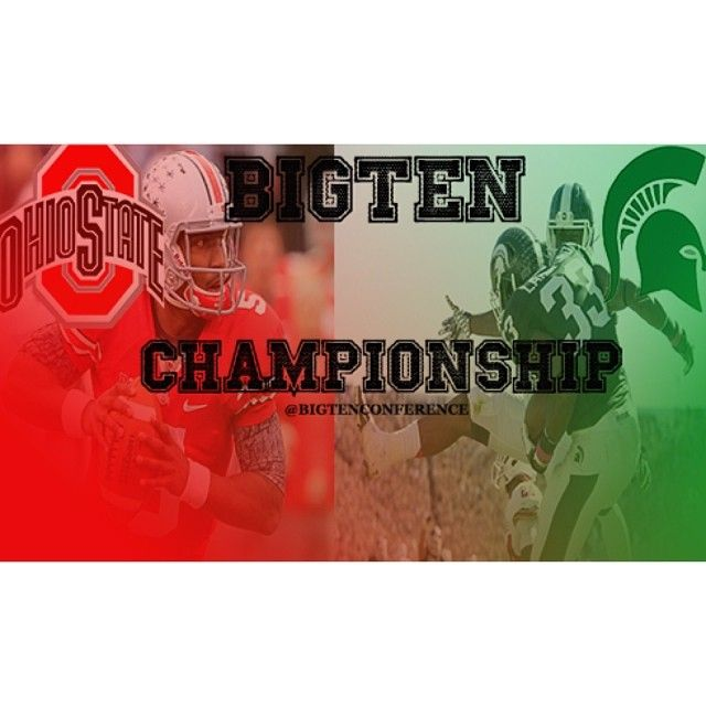 Theohiostatefootball Squares Of Against Spartanation In The Bigtenchampionshi Michigan State Spartans Football Msu Spartans Football Michigan State Spartans