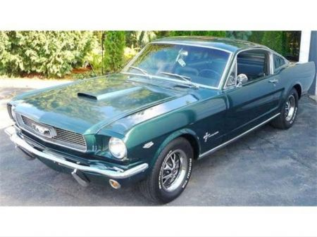 CanadianAutoNetwork.com - 1966 Ford Mustang 2+2 Fastback K Code
