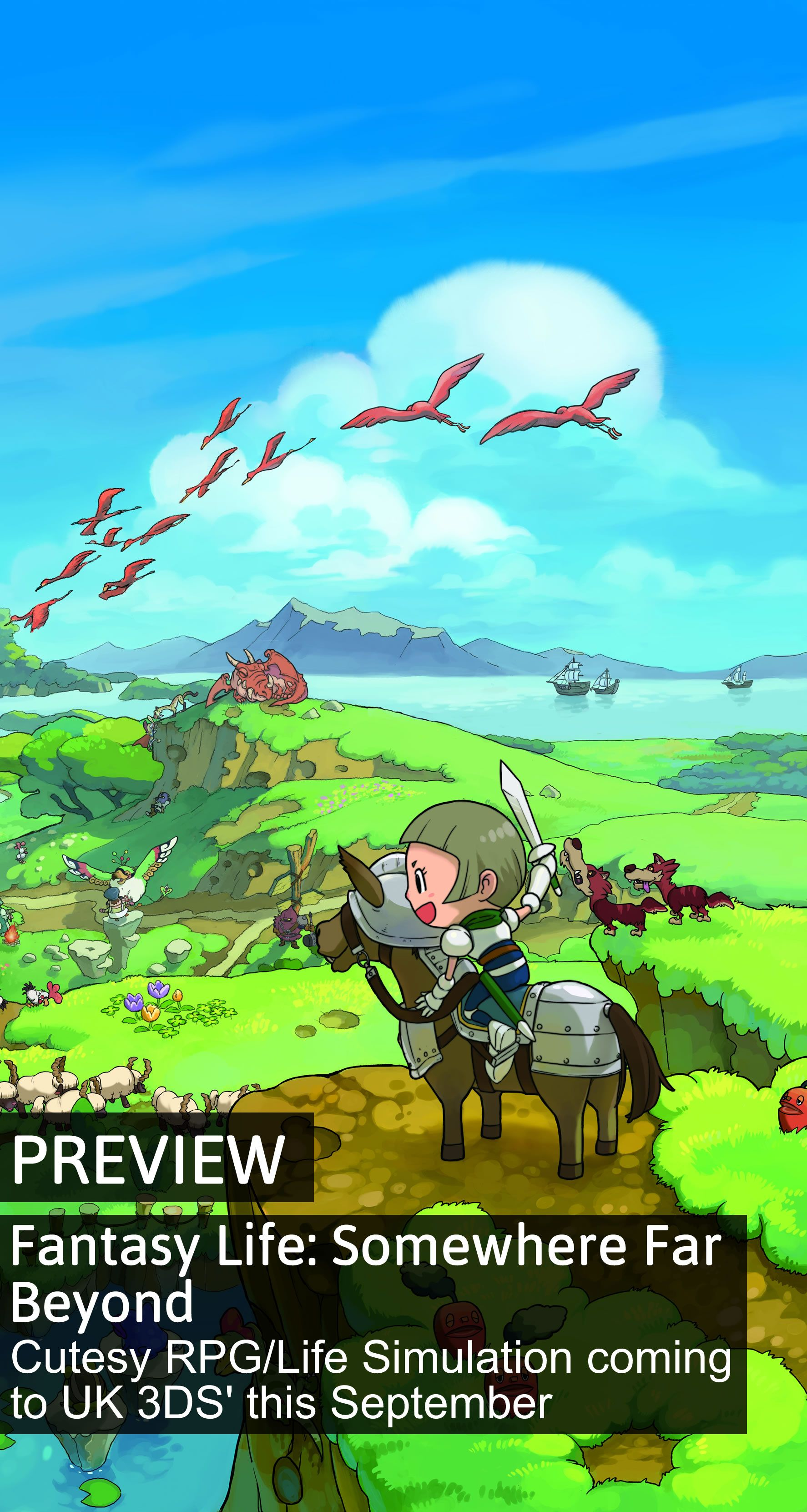 What would you get if you crossed Animal Crossing with Ni No Kuni? The answer, it seems, is Fantasy Life - a 3DS game that looks set to swallow up our spare time all over again...