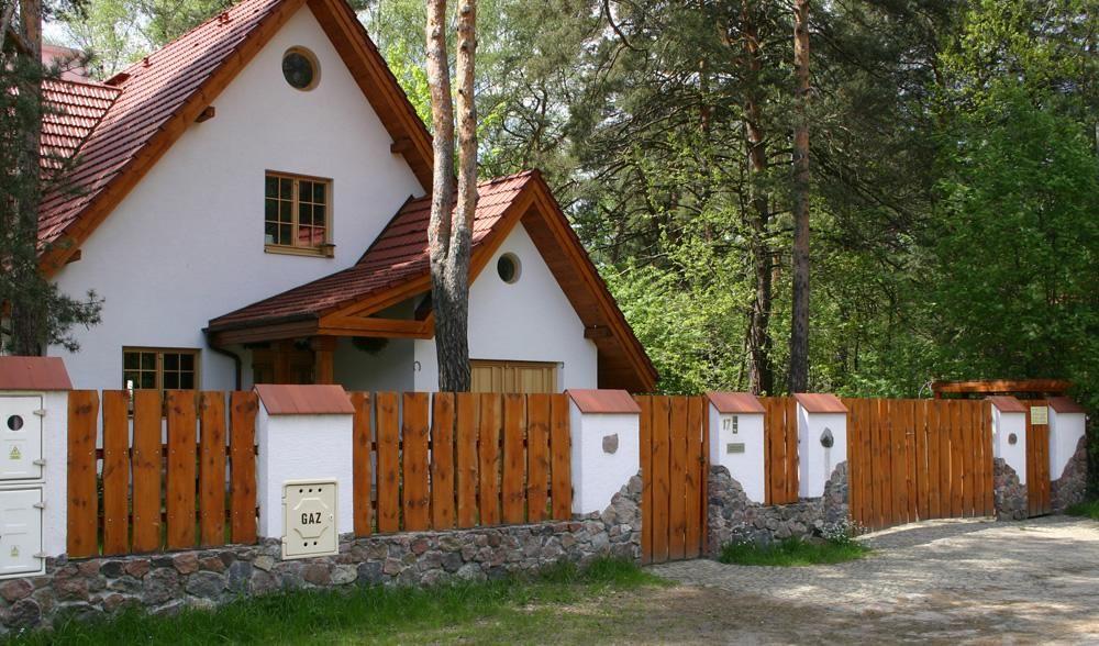 Deski ogrodzeniowe typu RANCZO Sztachety Olchowe ogrodzenia - outdoor küche mauern