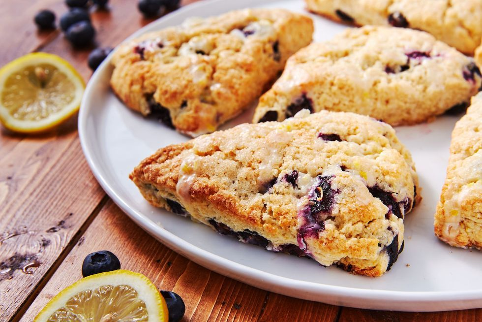 Blueberry Lemon Buttermilk Scones Recipe Buttermilk Scone Recipe Food Recipes Dessert Recipes