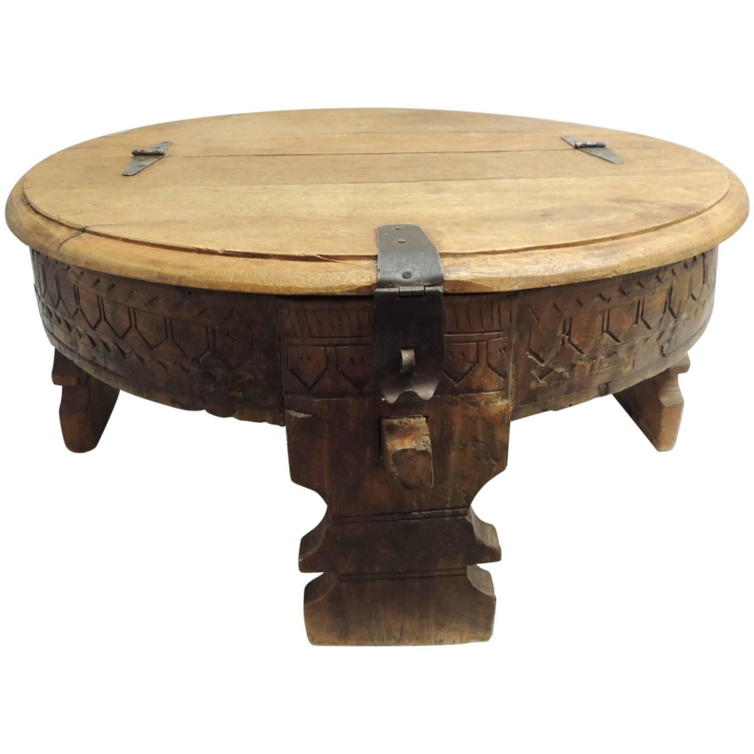 Moroccan Carved Round Coffee Table Coffee Table Round Wood Coffee Table Round Gold Coffee Table [ 1500 x 1500 Pixel ]