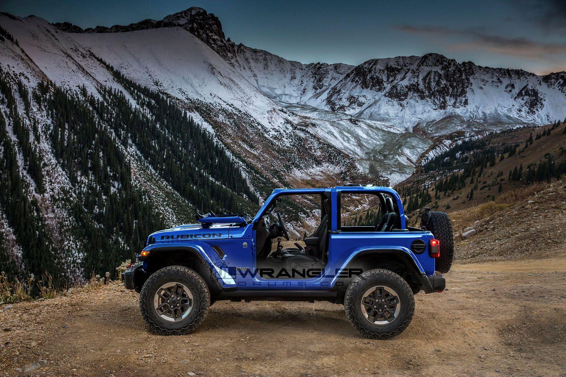 2018 Jeep Wrangler Jl Rubicon Ocean Blue Metallic Clear Coat By Jlwf Jpg Blue Jeep Jeep Wrangler Colors Wrangler Jl
