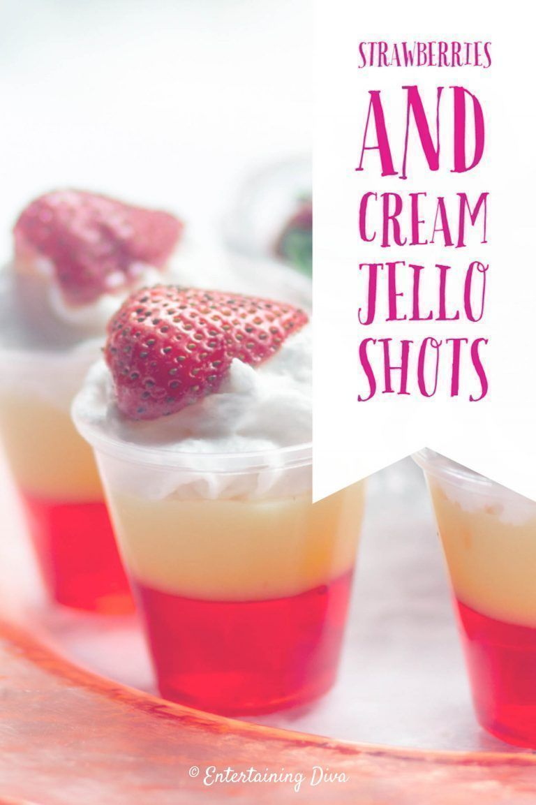Love this red and white layered jello shots recipe. Made with Whipped vodka, Strawberry pucker (or schnapps), Strawberry jello and vanilla pudding these jello shots are so easy to make and they taste great! #fromhousetohome #partyideas #jelloshots  #easyrecipes #vodkastrawberries Love this red and white layered jello shots recipe. Made with Whipped vodka, Strawberry pucker (or schnapps), Strawberry jello and vanilla pudding these jello shots are so easy to make and they taste great! #fromhouseto #vodkastrawberries