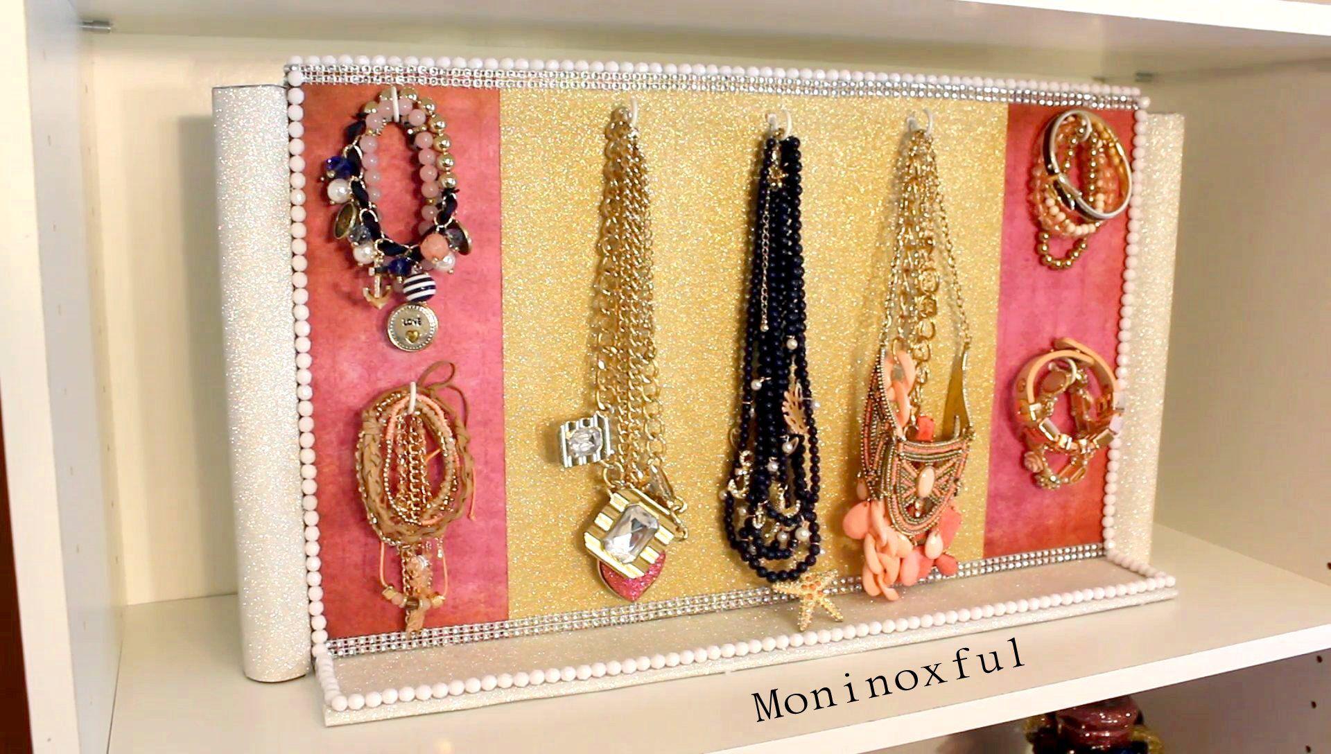 Para colgar collares y pulseras manualidades diy - Para colgar collares ...