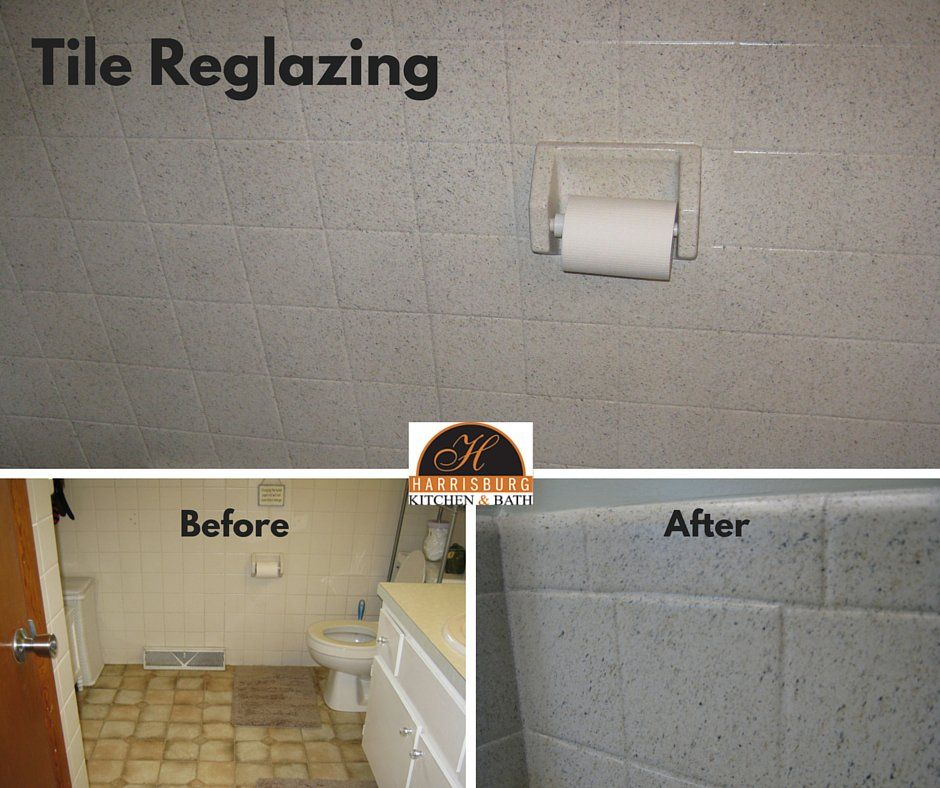Reglaze Rather Than Replace Bathroom Tile Overtime Bathroom Tiles Can Begin To Look Dingy Replacing With Images Beige Tile Bathroom Kids Bathroom Makeover Bath Remodel