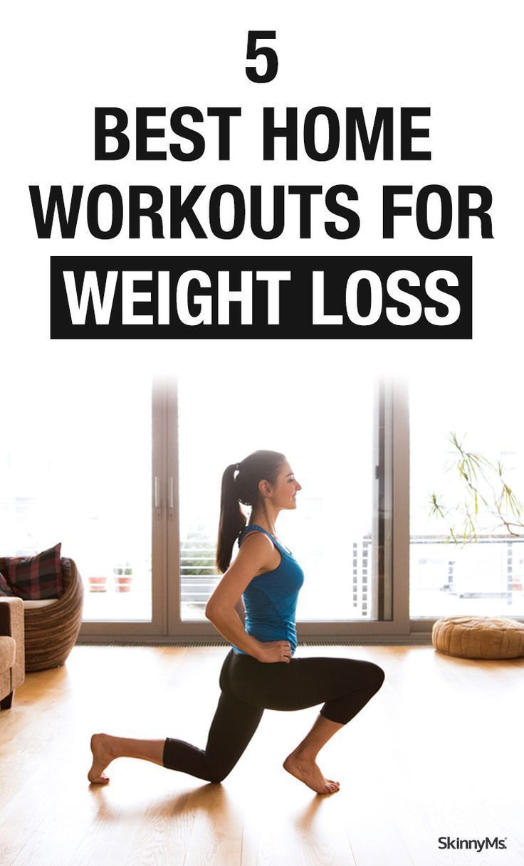 5 Best Home Workouts for Weight Loss   Weight loss, Workout and ...