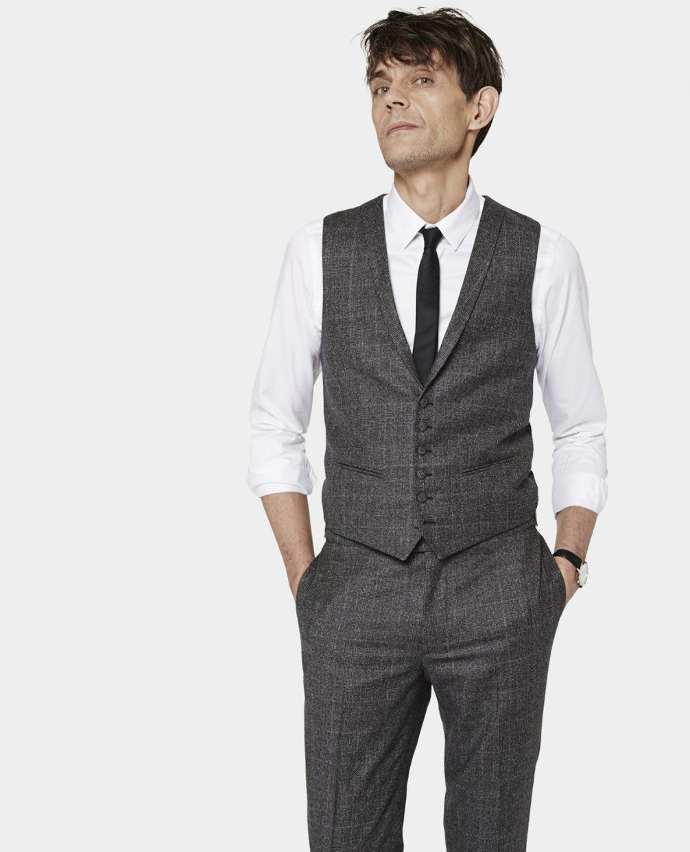 dd5ad1e5eb Prince of Wales check suit - Suits - Men - The Kooples | Wedding ...