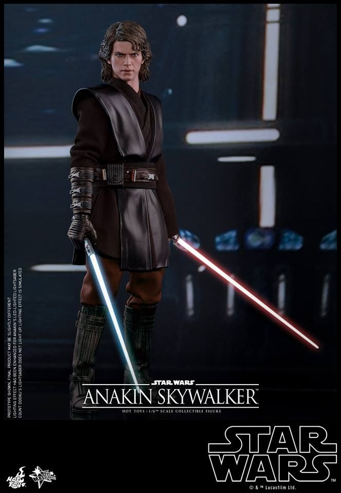 Hot Toys 1 6 Action Figure Star Wars Episode Iii Revenge Of The Sith Anakin Skywalker Hk 1 430 Taghobby Co Star Wars Anakin Star Wars Models Star Wars Decor