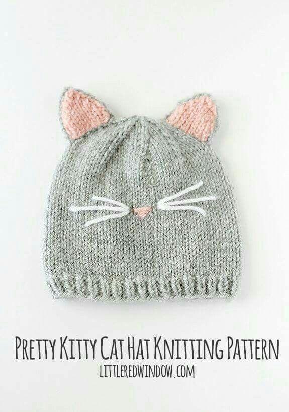 Gorro gatito | Accesorios | Pinterest | Gato y Accesorios