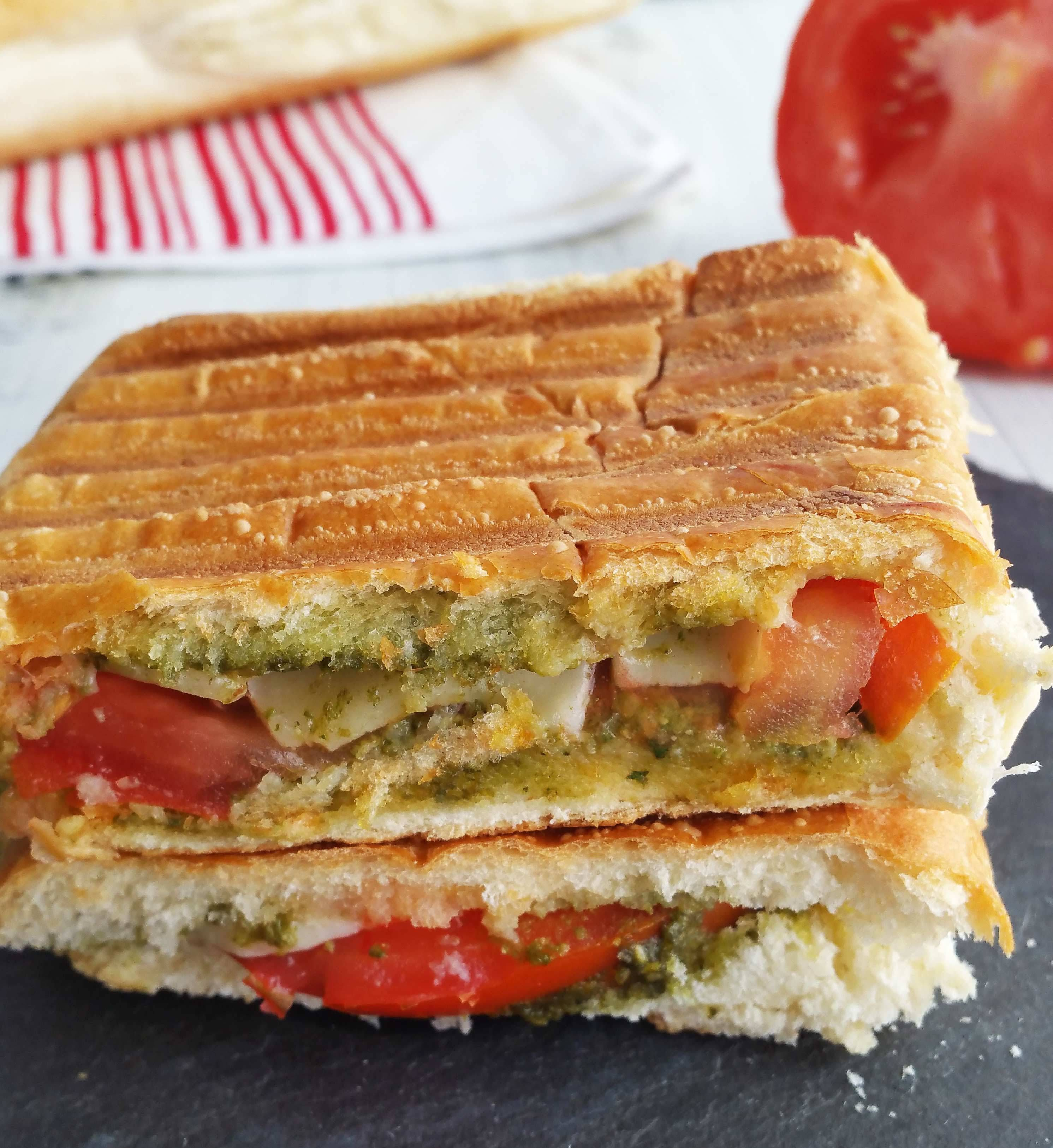 I Am Crazy For Paninis And This Tomato Pesto Panini Is My Favorite