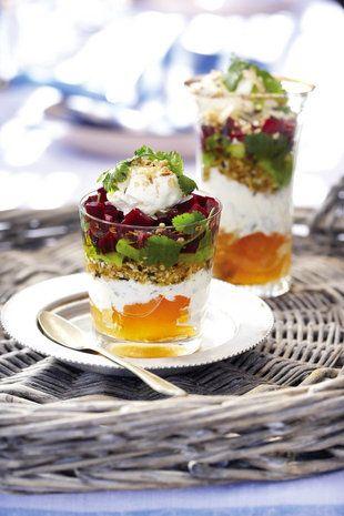 Moroccan Veg Trifle