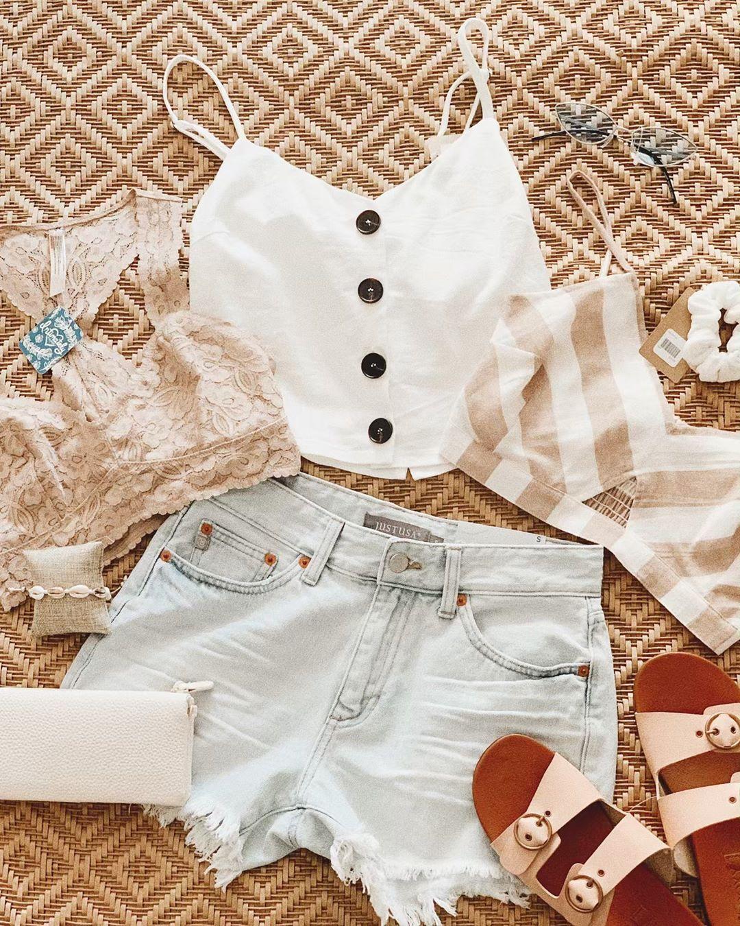 Newmao Toddler Girls Summer Dot Print Blouse Top+Grid Short Pants Set Outfit