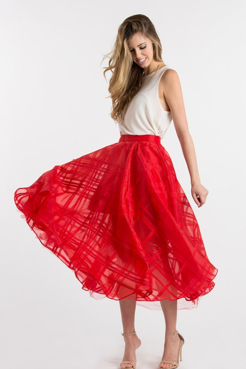 30e6d4a6754 Red Skirts