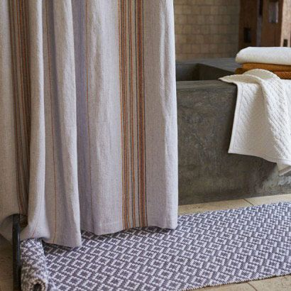 Coyuchi Rustic Linen Shower Curtain Newlywish Rustic Linen