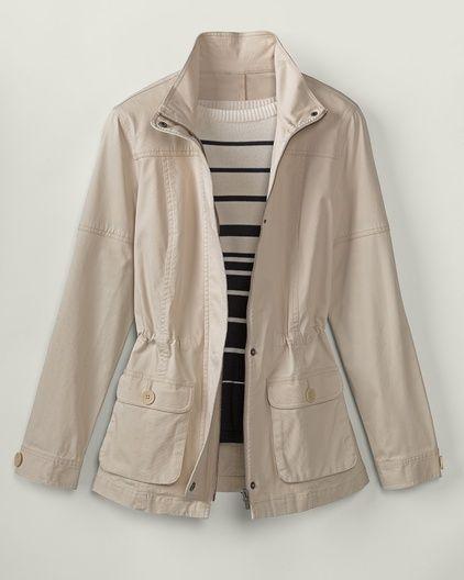 Any season utility jacket