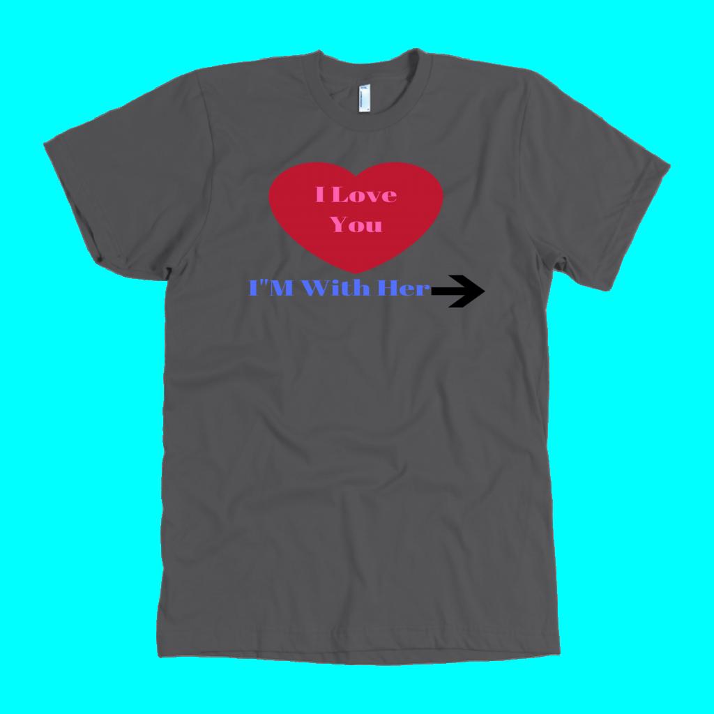 "I""m With her. TShirt T shirt, Shirts, Jesus shirts"