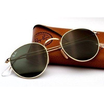 Óculos De Sol Rayban Retrô Redondo Original Ray Ban Rb 3447   òculos ... 8fd54c3417