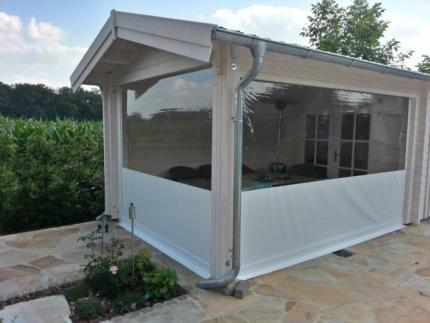 wind und wetterschutz markise senkrechtmarkise wintergarten in nordrhein westfalen l hne. Black Bedroom Furniture Sets. Home Design Ideas