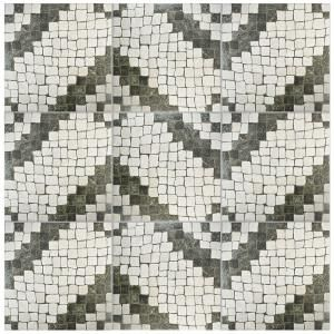 Merola Tile Calzada Blanco 20-1/4 in. x 20-1/4 in. Ceramic Floor and Wall Tile (20.4 sq. ft. / case) FAZ20CZB at The Home Depot - Mobile