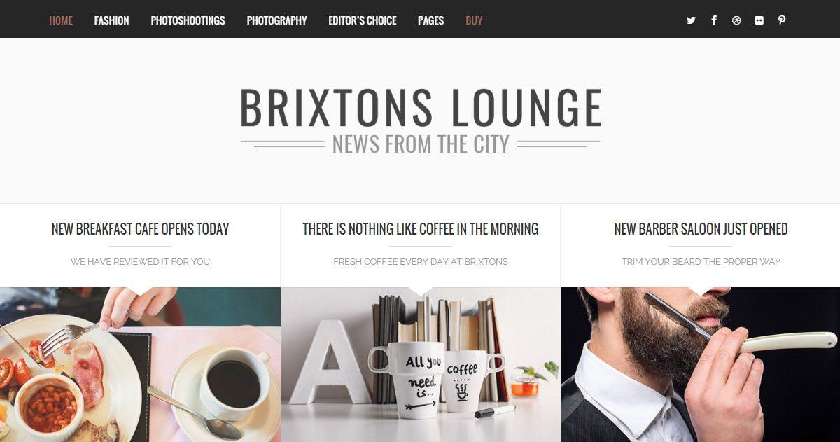 Most Beautiful Blogs Using Brixton WordPress Theme - DeerDesign http://deerdesign.net/most-beautiful-blogs-using-brixton/