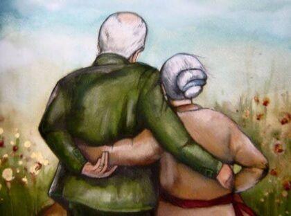 Man sagt, dass eine Person nicht altert, wenn die Haut Falten bekommt, sondern wenn ihre Träume und Hoffnungen faltig werden.