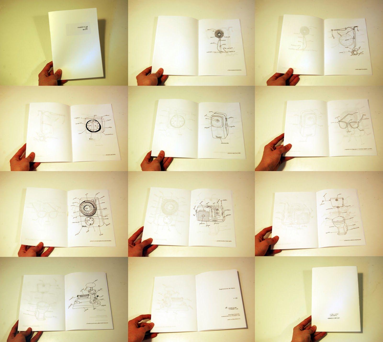 Unamesacamilla.: fragmentación del objeto I / II