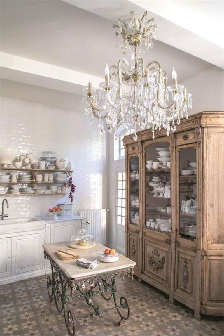 70+ Amazing French Country Kitchen Design Ideas #countrykitchens
