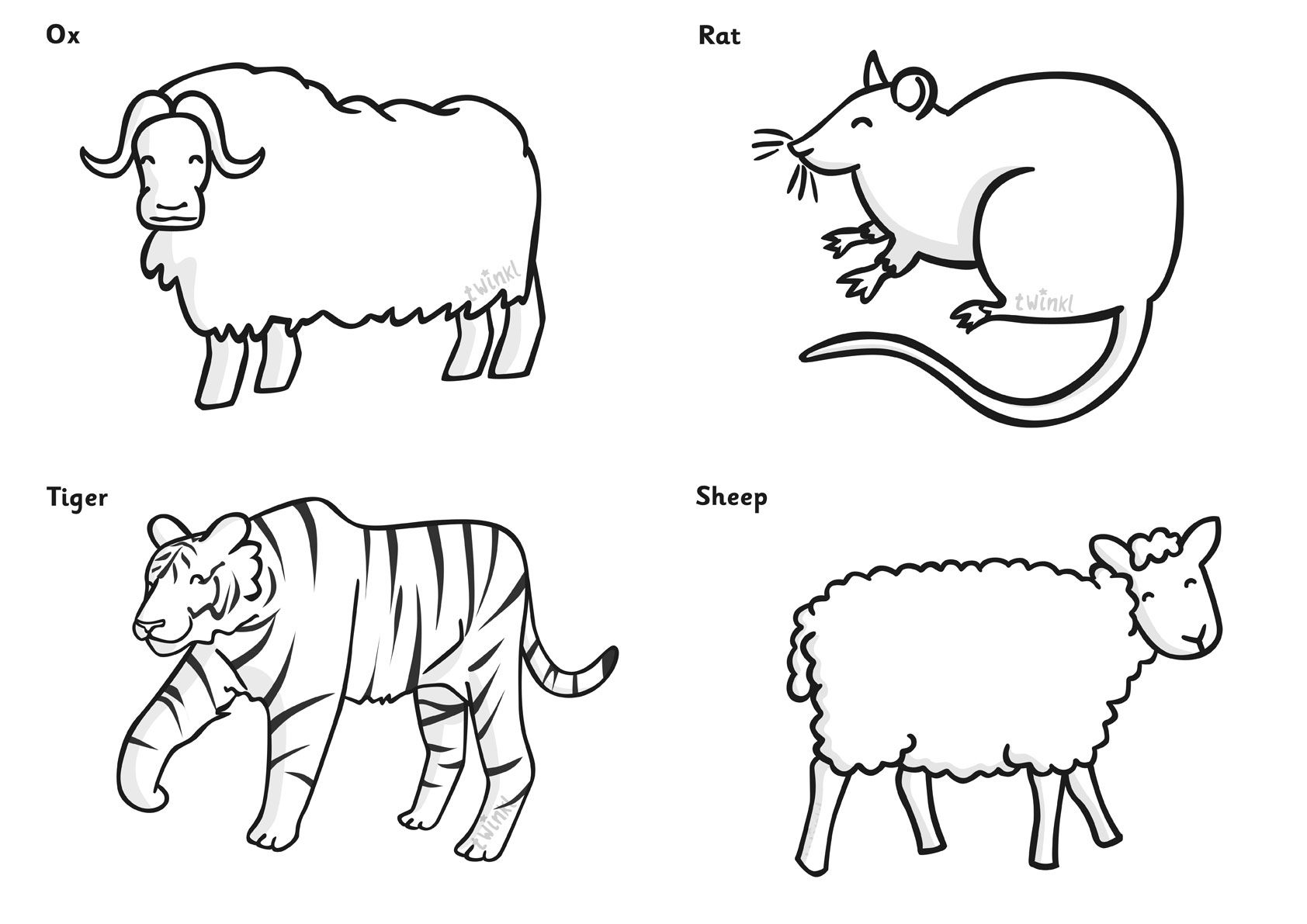 Chinese New Year Colouring Sheets Pop over to our site