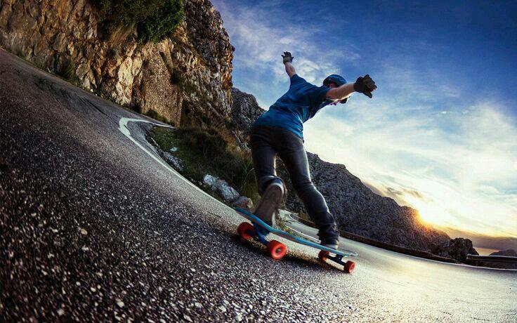 Toe Slide Longboard