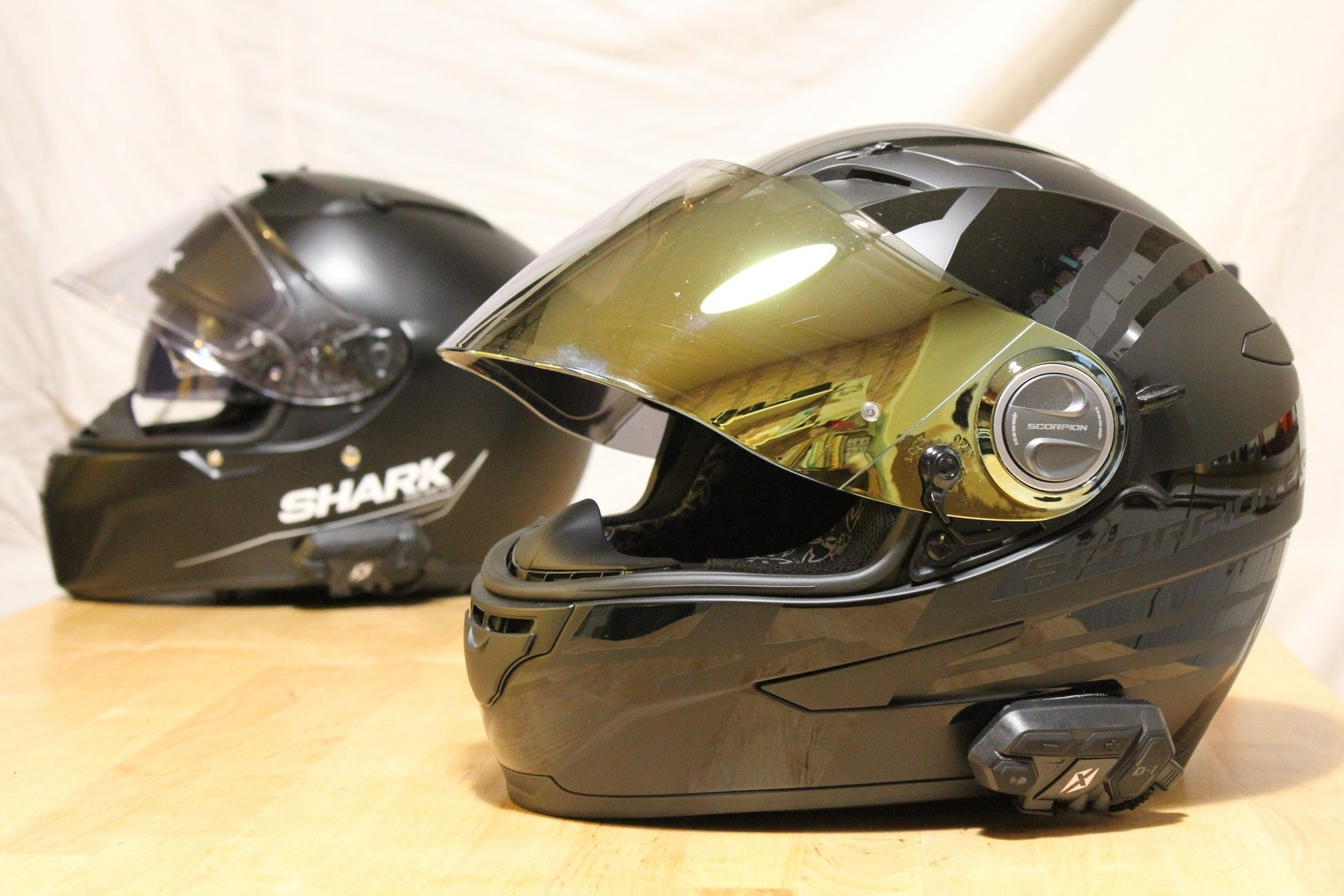 buy best authentic new high Dexter D-1 Duo, l'intercom moto à moto testé sur route par ...
