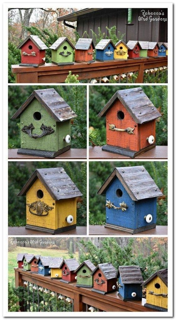 36 Flowers Garden Ideas For Backyards That Make Your Home Fresh Flowersgarden Flowersgardenideas Garde Bird Houses Painted Bird House Feeder Bird Houses Diy