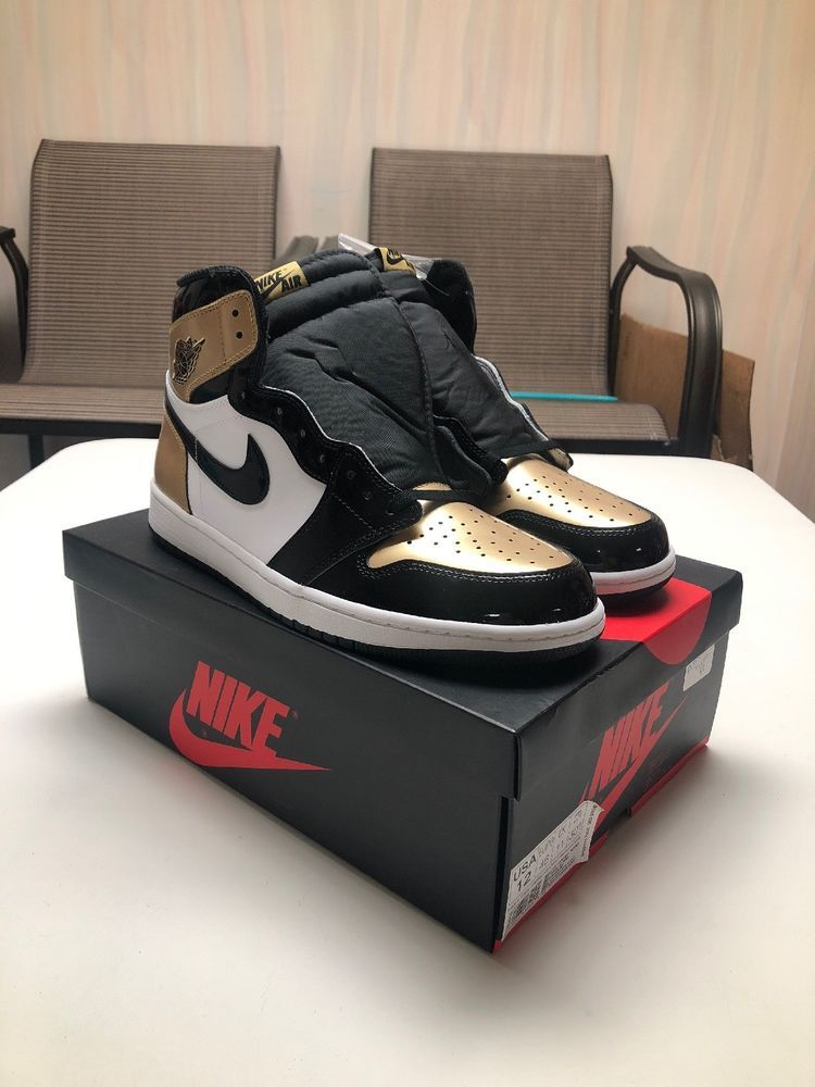 finest selection 08384 99014 Nike Air Jordan 1 Retro High OG NRG Gold Toe Mens Size 12 861428-007 BNIB   fashion  clothing  shoes  accessories  mensshoes  athleticshoes (ebay link)