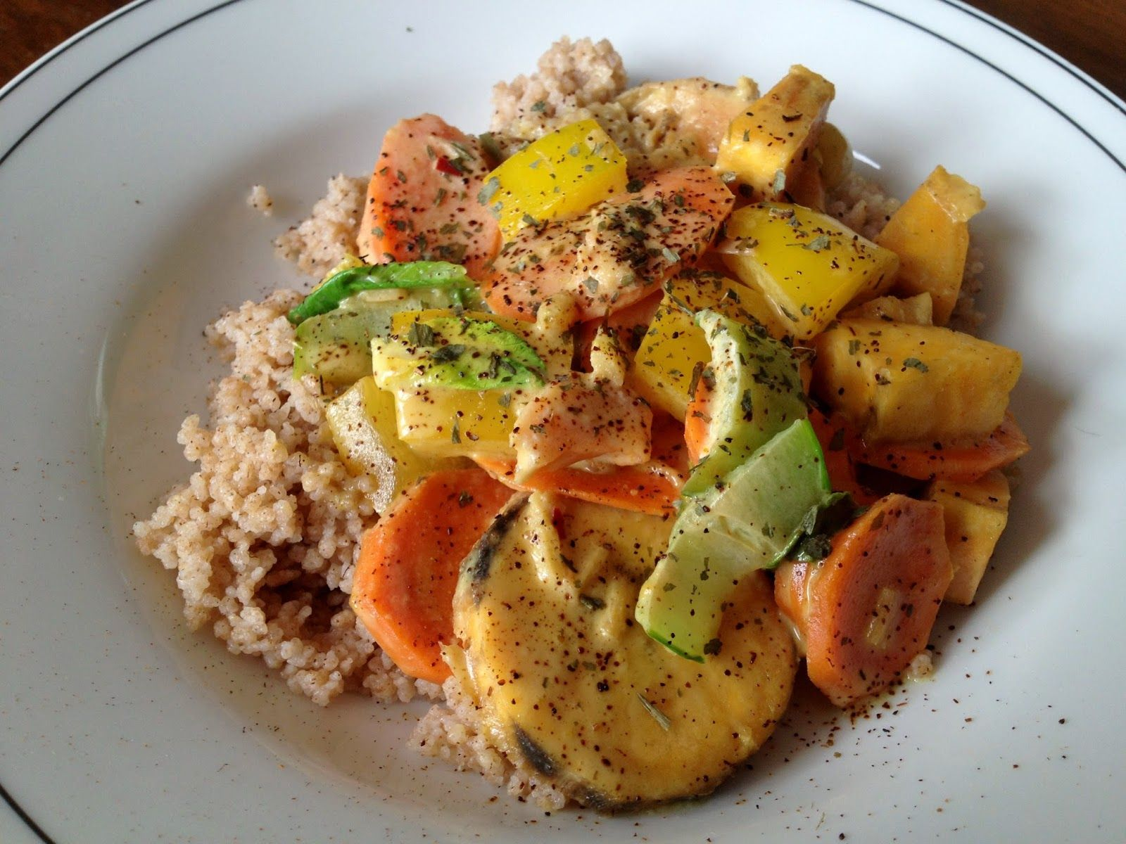 Die fabelhafte Welt der Franca Tütü:  eat  Kokos.Curry auf afrikanisch...