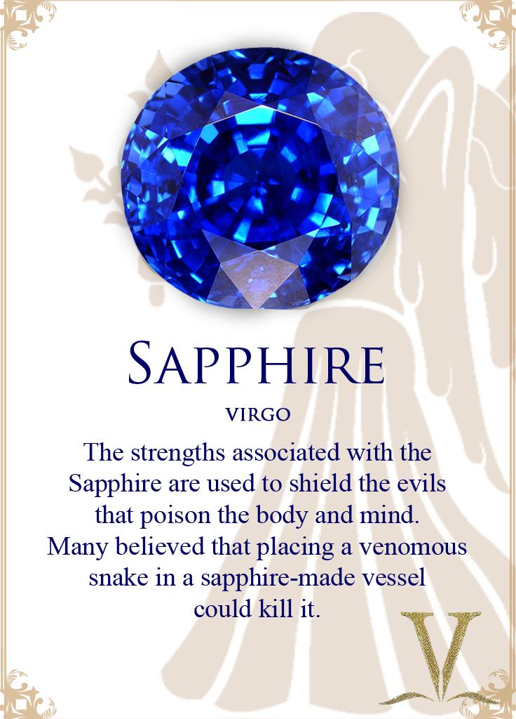 Yellow Sapphire For Virgo: