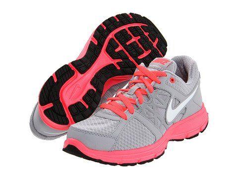 Women's Nike Air Relentless 2 Wolf GreyWhite Hot Punch