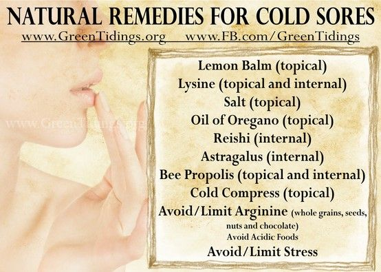 Home Remedies For Cold Sores When Pregnancy