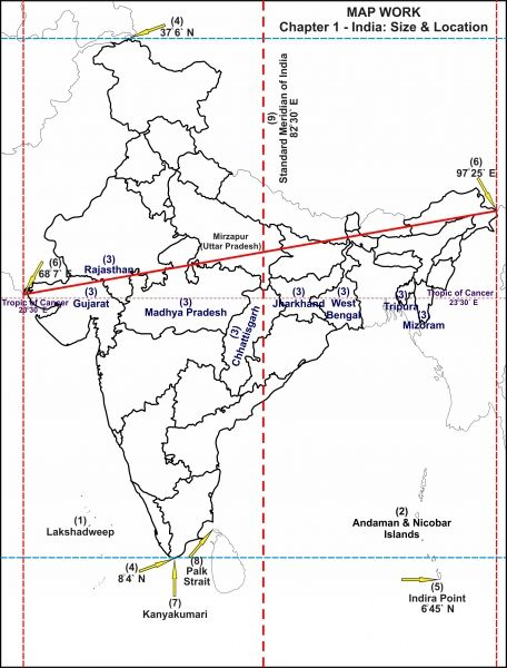 geography of india questions and answers pdf