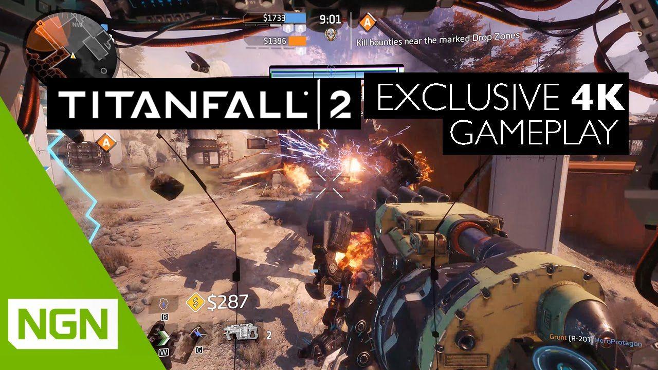 Titanfall 2 Multiplayer 4K 60 FPS PC Gameplay Titanfall