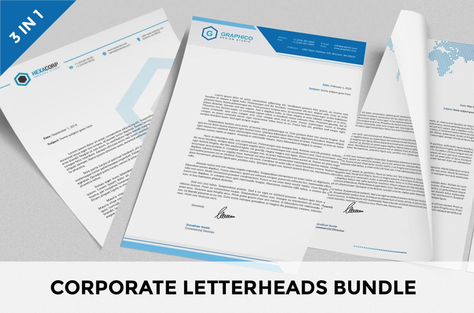 CorporateLetterheadTemplateBundle  Design Layouts