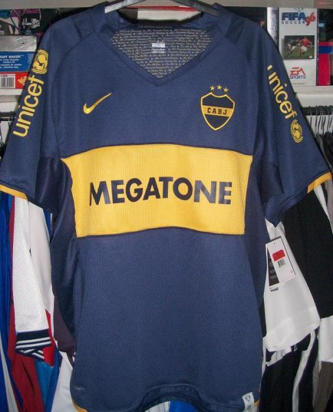 half off 28e3e 518e7 Boca Juniors football shirt 2007 | football team | Football ...