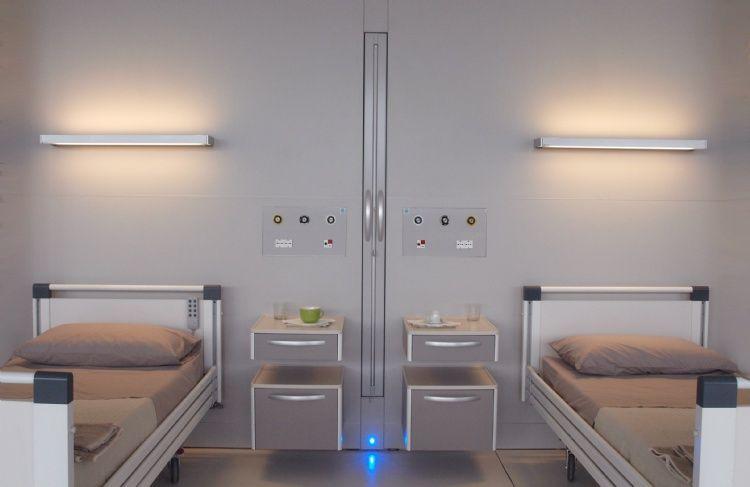 Arredamento ospedaliero ~ Totem parete sistema arredamento ospedaliero healthcare