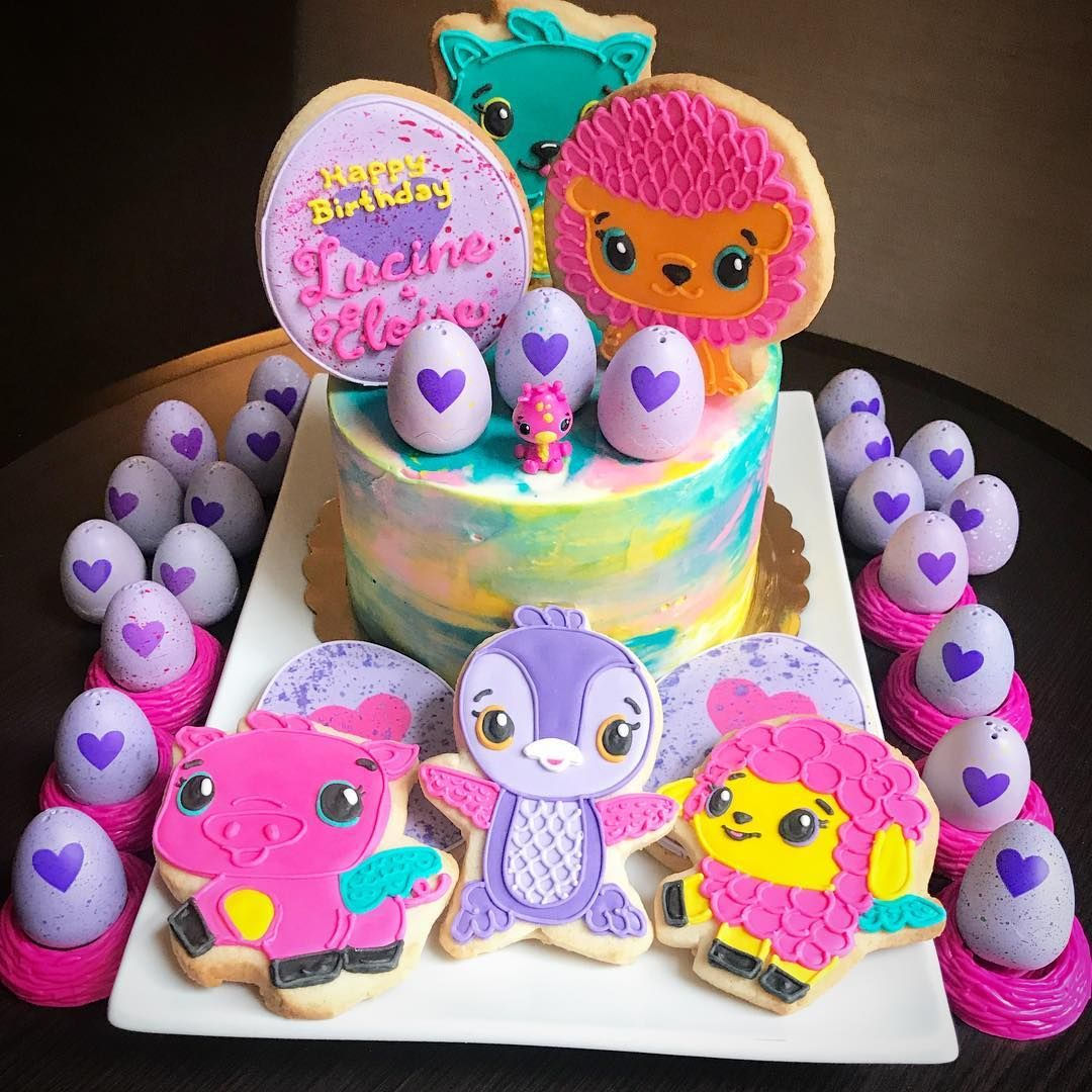 Hatchimals Birthday Cake