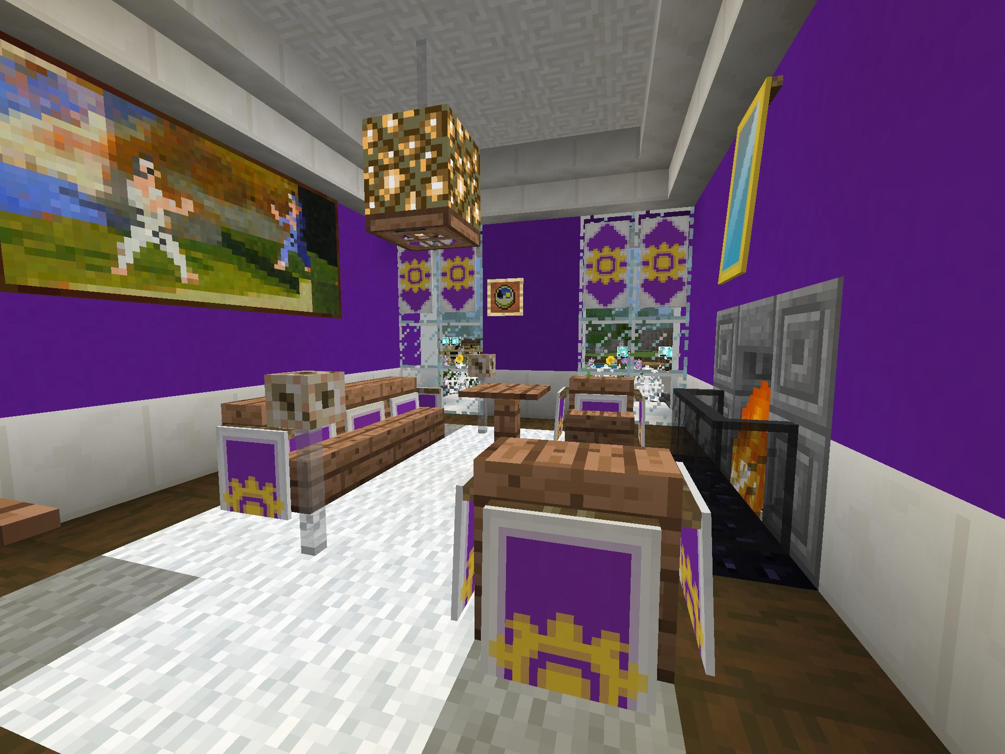 Minecraft Interior Design: 15+ Creative & Simple Minecraft ... |Minecraft Mansion Inside Bedroom