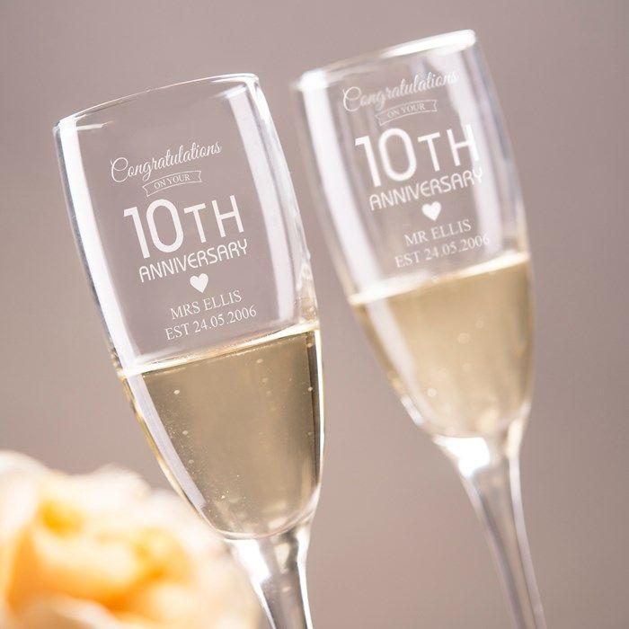 Caroline Champagne Flute X 10
