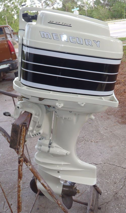 Old Mercury Outboards 40 Horse Antique Merc 350 40hp Mercury Outboard For Sale Outboard Mercury Outboard Outboard Motor Stand