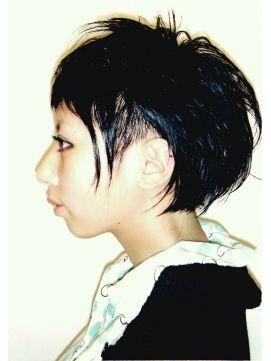 ロック 個性派女子におすすめ クールなヘアスタイル 髪型 ヘア