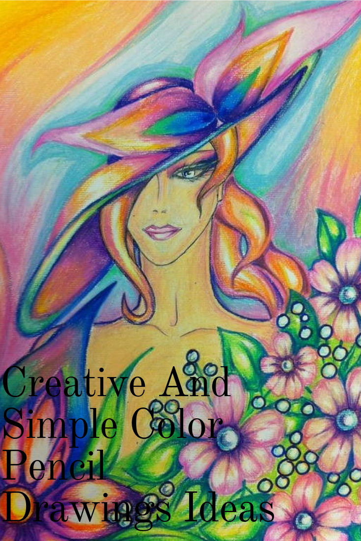 Creative and simple color pencil drawings ideas creative android simple color pencil drawings ideas