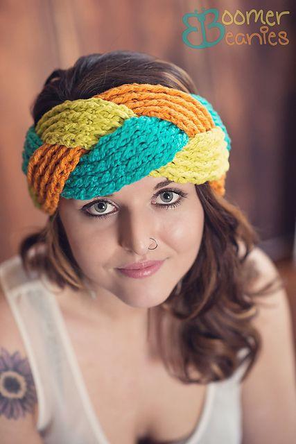 Kasey Headwrap (Reversible) pattern by Boomer Beanies | Crochet ...