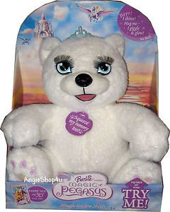 Barbie Toy Lights Up Talking Giggles Shiver Polar Bear